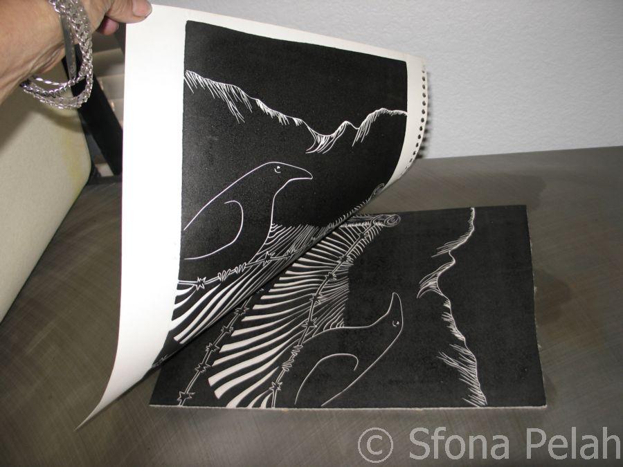 linoleum-cut-printed-on-paper