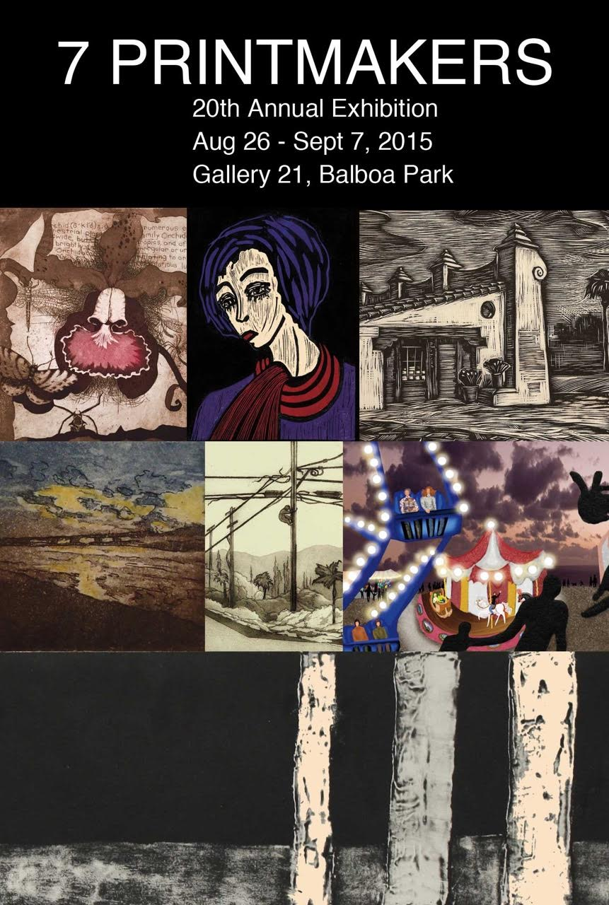 7 Printmakers 20th Exhibit Sfona Pelah
