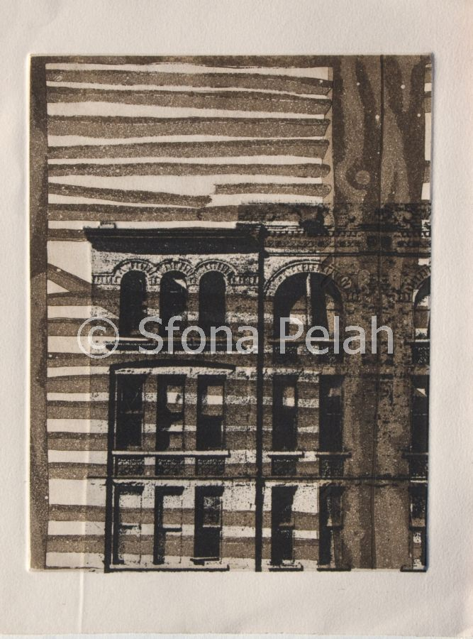 """Untitled"" (building) by Sfona Pelah"