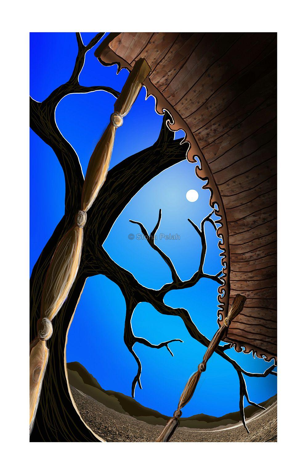 """Untitled"" (balcony night sky)"